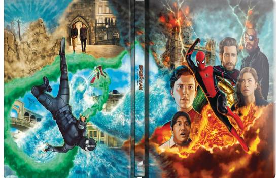 Zavvi Announces Exclusive Steelbooks of Spider-Man: Homecoming, Far From Home