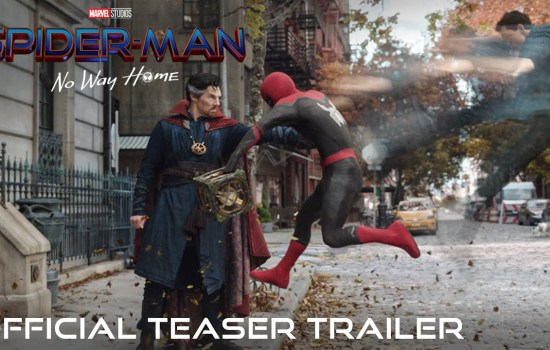 Official Teaser Trailer for 'Spider-Man: No Way Home'