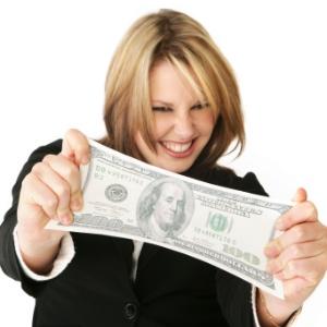 Dinheiro traz felicidade