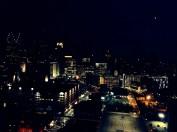 Detroit Skyline Night 2014
