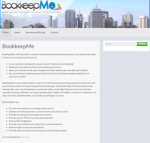 Bookkeepme Design