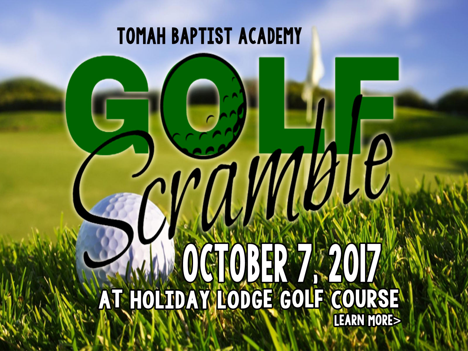 TBA Golf Scramble Benefit