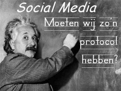 >Protocols are important for social media and blog management. Image source
