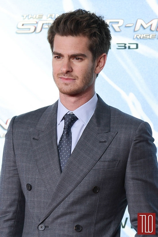 IN Or OUT Andrew Garfield In Louis Vuitton At The The