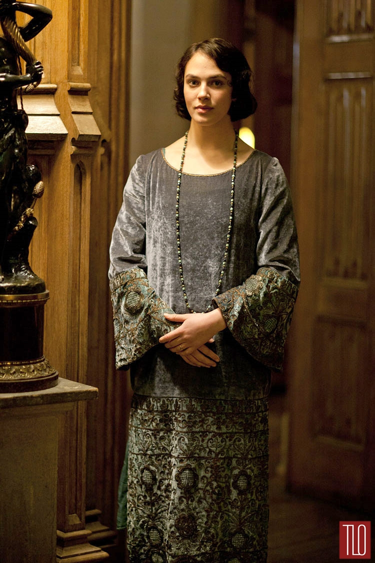 The Costumes Of Downton Abbey Part 3 Tom Lorenzo