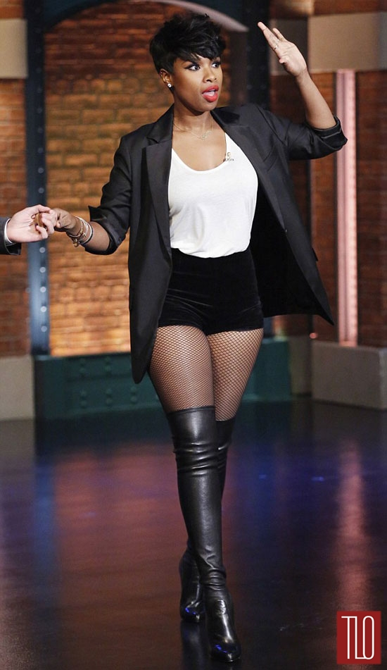 Jennifer Hudson On The Late Night With Seth Meyers Show