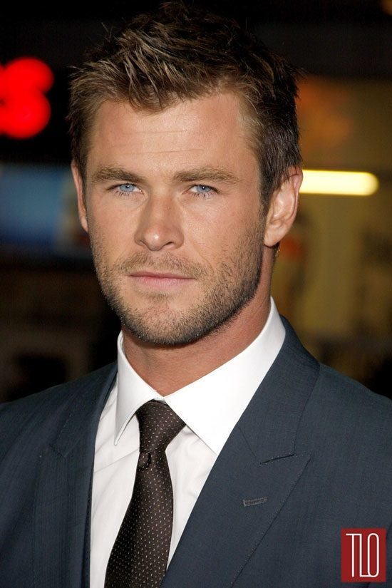 Chris Hemsworth In DolceampGabbana At The Blackhat