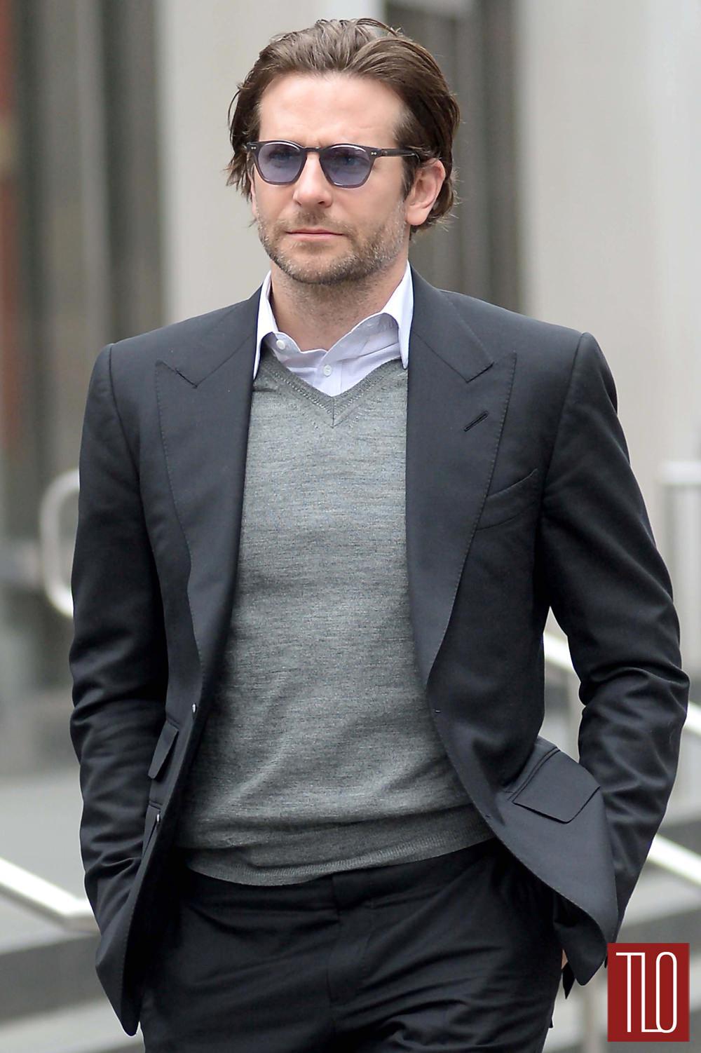 Bradley Cooper In NYC Tom Lorenzo