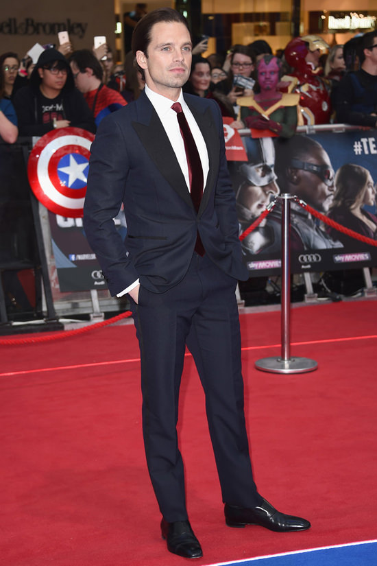 The Men At The Captain America Civil War UK Premiere
