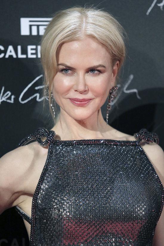 Nicole Kidman In Armani At The Pirelli Calendar Launch