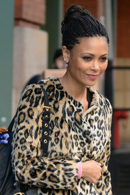 Style Double Shot Thandie Newton In NYC Tom Lorenzo
