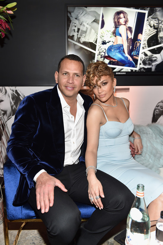 Jennifer Lopez And Alex Rodriguez Get Guess Ied Up At The