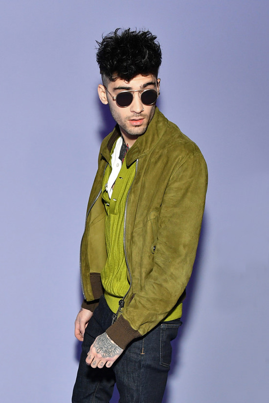 5 Minute Beauty Distraction Zayn Malik At The Tom Ford