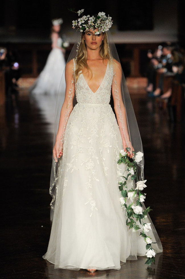 Reem Acra Spring 2019 Bridal Collection Tom Lorenzo