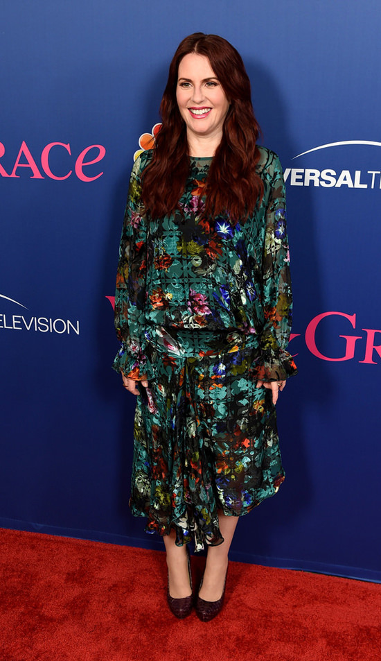 Megan Mullally And Debra Messing At NBCs FYC Event For