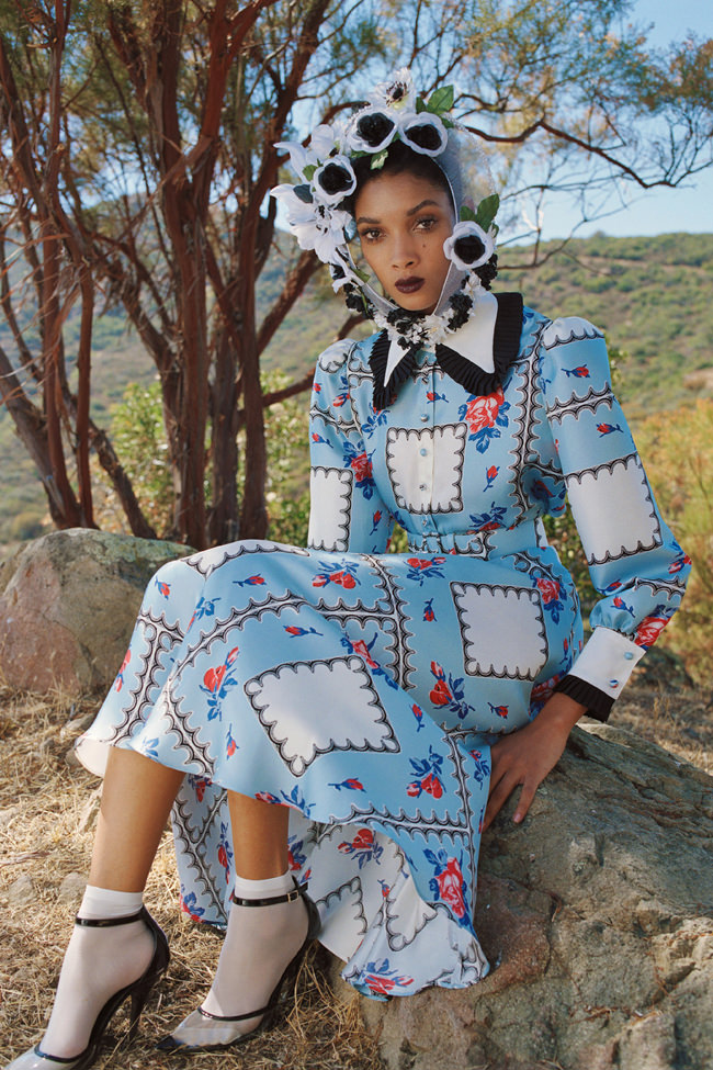 New York Fashion Week: Rodarte Spring 2021 Collection ...