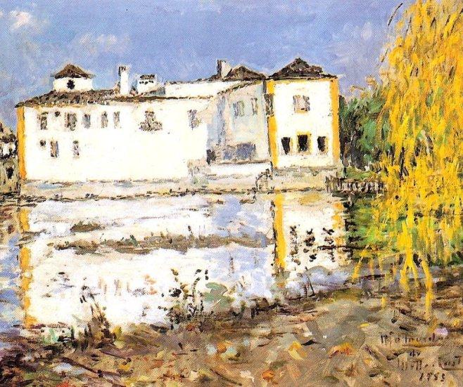 Convento de Santa Iria. Pintura de Maria de Lourdes de Mello e Castro (1953)