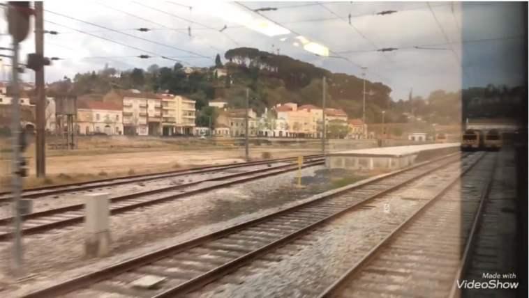ramal de Tomar comboio