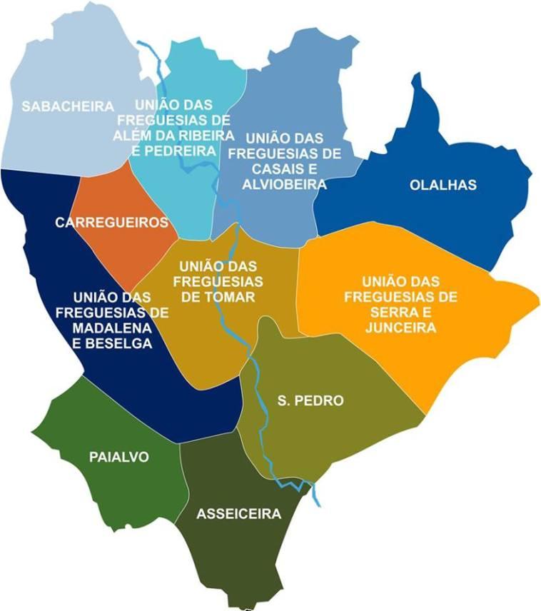 mapa freguesias concelho Tomar 3 1758694309436289754 n