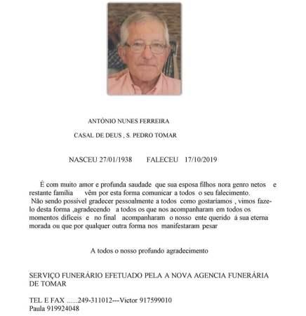 ANTONIO NUNES FERREIRA