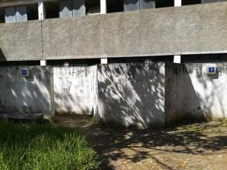 Casas de banho do parque de caravanismo