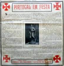 Recorte do jornal Cidade de Tomar (1940)