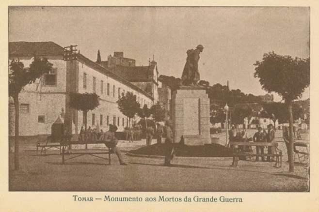 varzea estatua combatentes