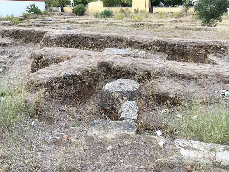 Ruinas do forum romano de Tomar