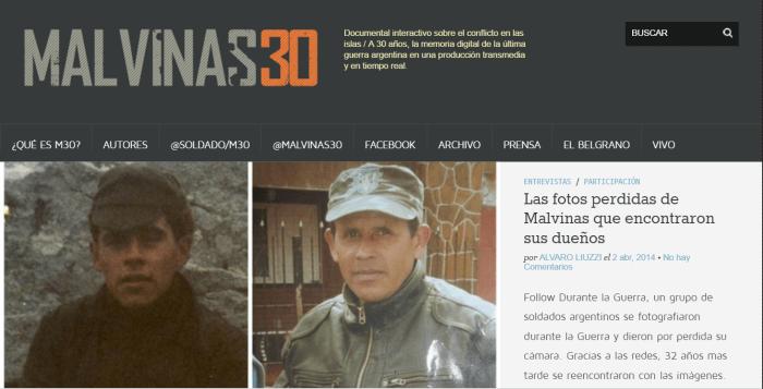 Malvinas 30