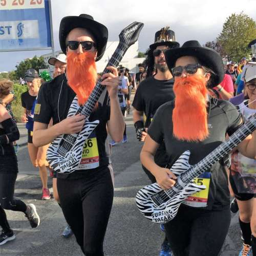 Medoc Marathon 2017 - ZZ Top