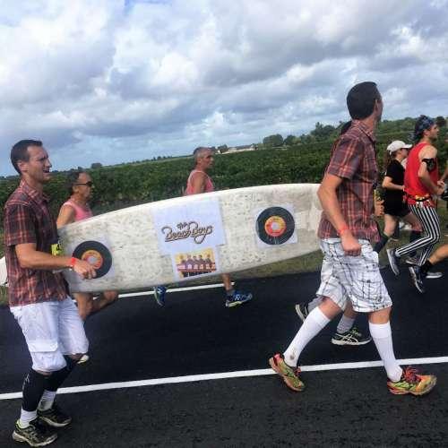 Medoc Marathon 2017 - Beach Boys