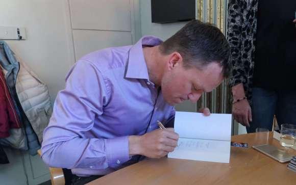 koncentrerad signering