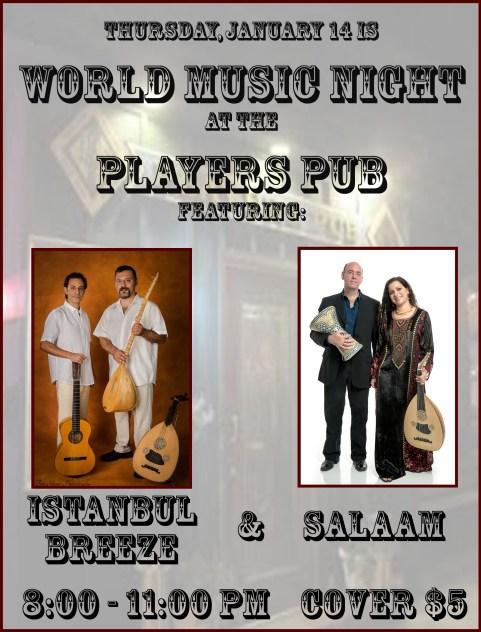 World Music Night Flyer