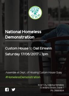 National Homeless Demonstration 17.06.2017