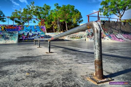 Skatepark del Monte Tossal (Alicante)