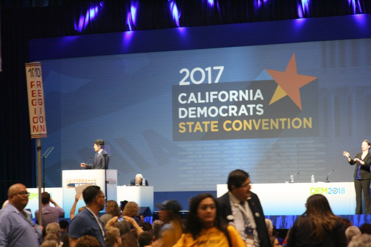 Kevin De Leon address CDP Convention