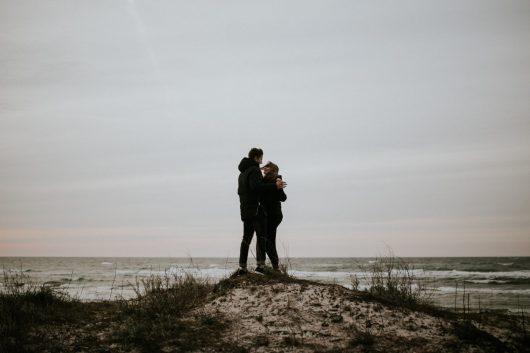 Roksana i Jakub plaża Dźwirzyno