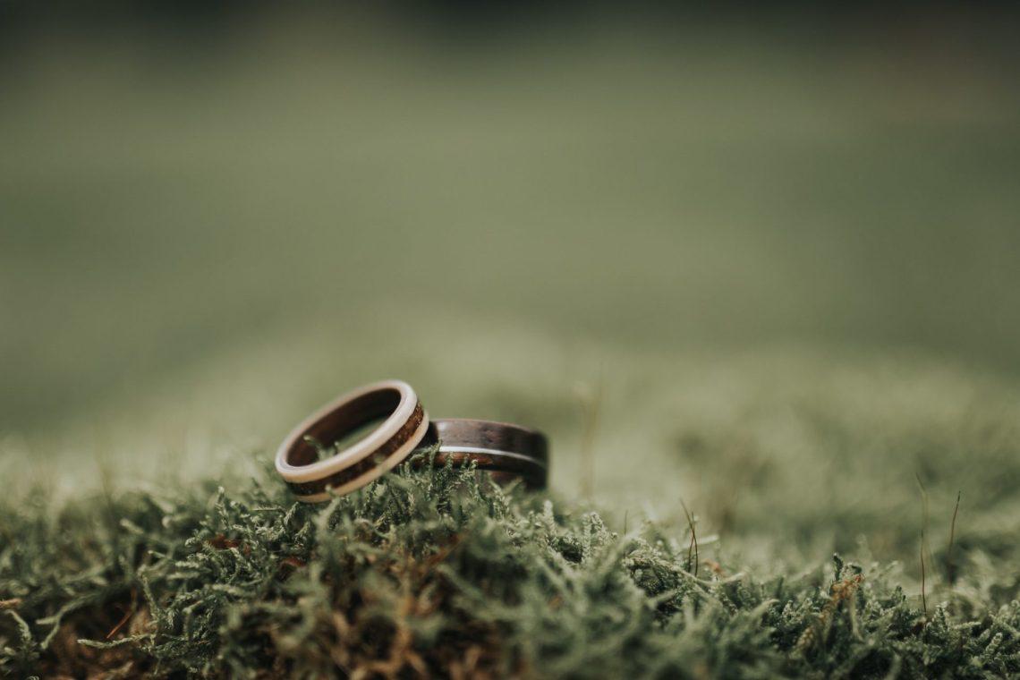 ranczo w dolinie zaczyk wood rings obrączki ślubne
