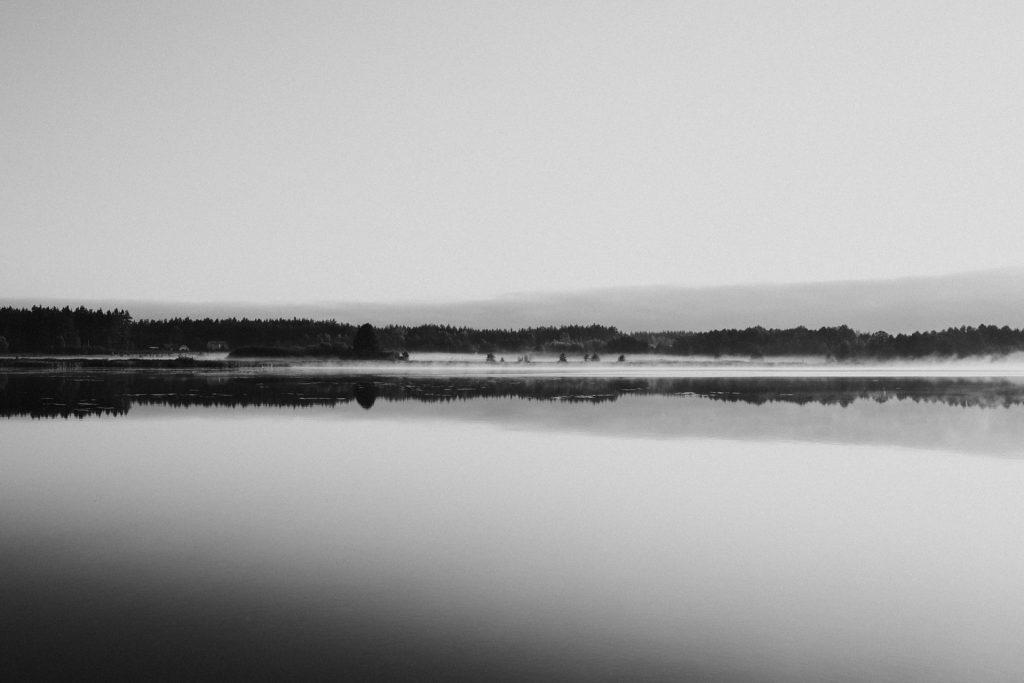 wschód słońce mgła podlasie jezioro orle twardowski fotograf ślubny