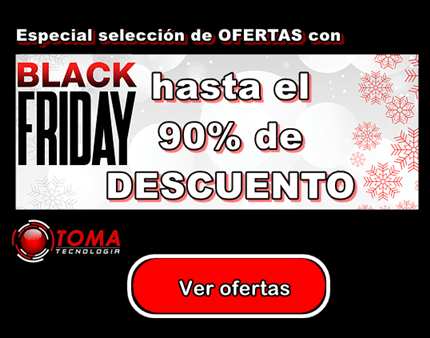Especial ofertas Black Friday 2018