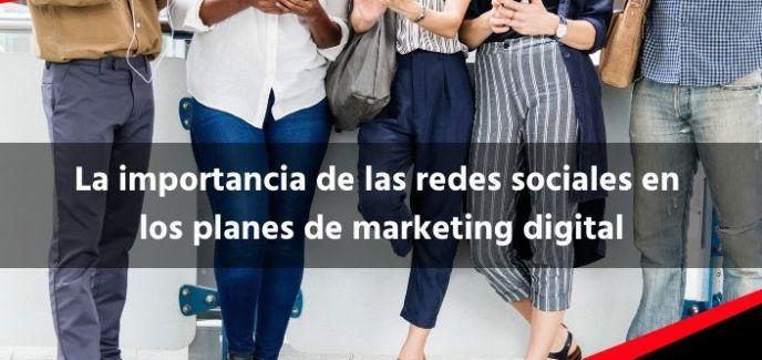 La importancia de las redes sociales en los planes de marketing digital