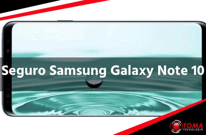 Seguro Samsung Galaxy Note 10 barato