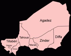 Regions of Niger