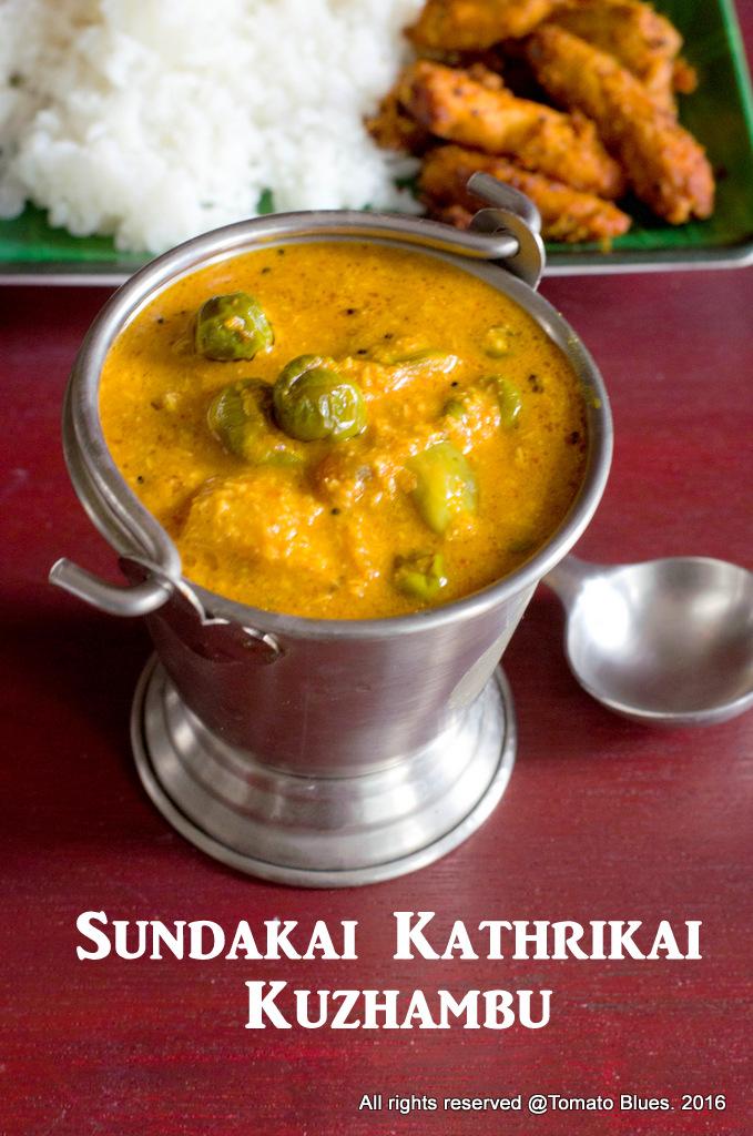 Sundakkai Kuzhambu Recipe With Step By Step Instructions