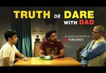 This is what happens you dare to play Truth or Dare with your Dad! Tomatoheart.com