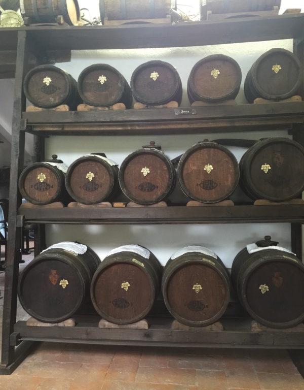 Real balsamic vinegar barrells