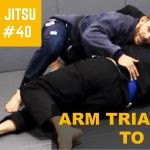 2 Minute Jiu Jitsu Ep.40: Arm Triangle To Back
