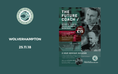 The Future Coach Seminar Wolverhampton 25.11.18