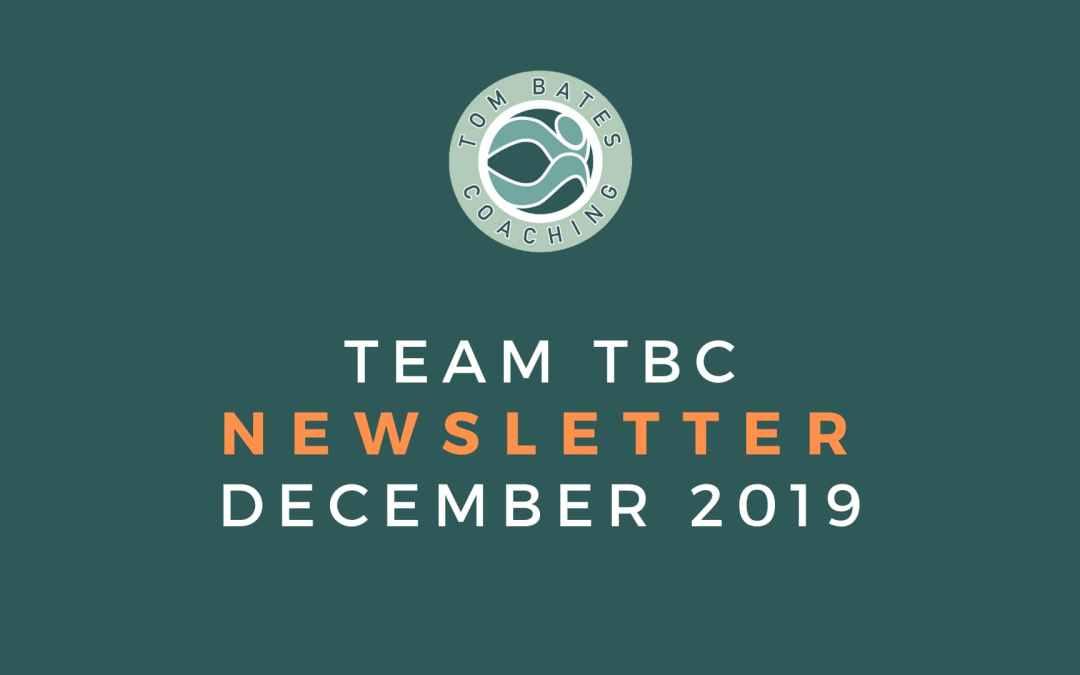Team TBC Newsletter December 2019