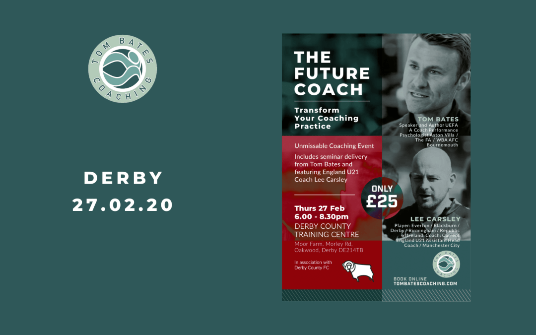 The Future Coach Seminar DERBY 27.02.20
